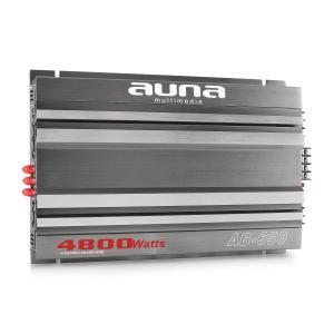 Auna AB-650 Ampli Auto 2 3 5 6 Canaux Bridgeable 540W RMS