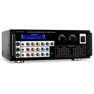 Auna Pro1-Sing Ampli Hifi stereo karaoké 3 entrées micro