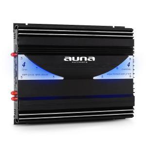 Auna ampli auto car 4 3 2 canaux bridgeable sono 2800W