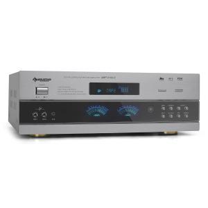 Auna Ampli PA & récepteur radio HiFi stereo 5.1 son surround -argent