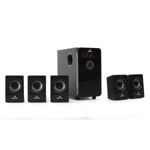 HF583 Set haut-parleurs système 5.1USB SD MP3 Radio 5000W max.