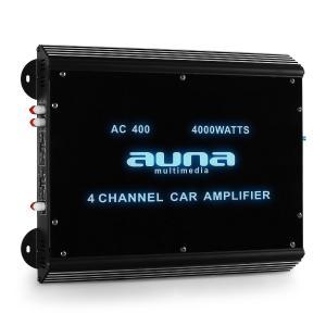 Auna Ampli pour voiture 4 canaux 360w RMS