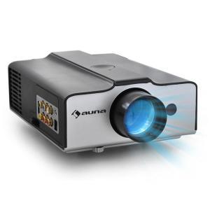 auna EH3BS Videoprojecteur LED compact entrée HDMI VGA -noir
