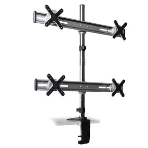Auna ET01-C04 Fixation Table pour 4 Moniteurs <4x8kg