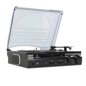 Auna 182TT Platine Tourne-disque USB MP3 AUX PC MAC