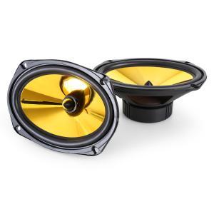 Auna Goldblaster 6x9 paire haut-parleurs auto 15x23cm 2000W