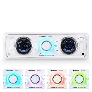 Auna MD-170-BT Autoradio MP3 USB SD RDS AUX Bluetooth -blanc