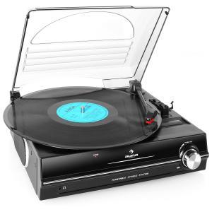 Auna 928 Platine vinyle Haut-parleurs intégrés