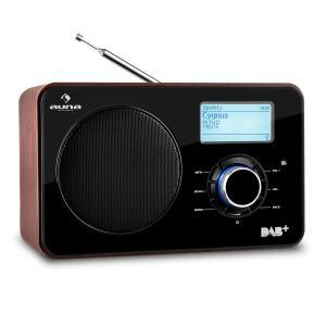 Auna Worldwide radio internet WLAN/LAN DAB+ Tuner FM USB AUX Dual Alarm