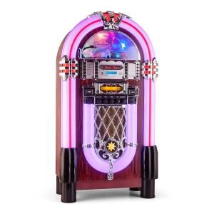 auna Graceland XXL BT Jukebox Bluetooth USB SD AUX CD FM/AM