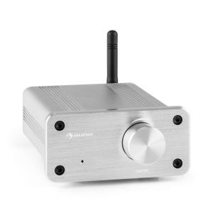 BT-Bro silver Mini-amplificateur stéréo classe D Bluetooth aluminium