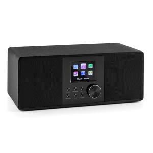 auna Connect 120 Radio internet Bluetooth WiFi DAB/DAB+ FM RDS USB MP3 AUX noire