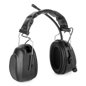 auna Jackhammer 2.0 Casque radio antibruit SNR 28 dB Aux-In ABS/acier – noir