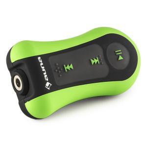 auna Hydro 4 Lecteur MP3 étanche 4 GB IPX-8 Clip Ecouteurs inclus- vert