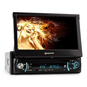 auna MVD-330 Autoradio multimedia Bluetooth écran tactile 7
