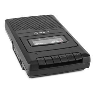 auna RQ-132 Lecteur cassette portable dictaphone enregistreur microphone