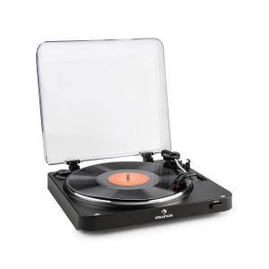 auna TT-30 BT Platine vinyle Tourne-disque Bluetooth Line-Out adaptateur RCA USB