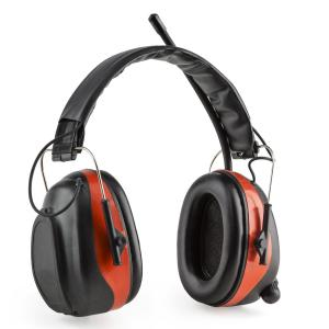 auna Jackhammer BT Casque antibruit Radio THF Bluetooth 4.0 AUX SNR 28dB – rouge