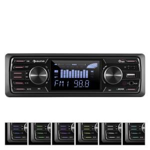 auna MD-350BT Autoradio Deckless BT USB SD MP3 4x45 w max 3