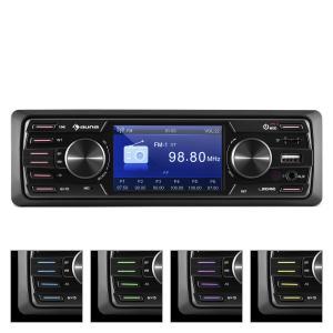 auna MD-550BT Autoradio multimédia Deckless BT USB SD 3