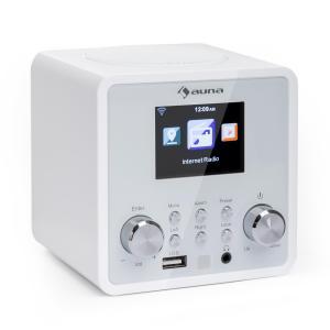 IR-120 Radio Internet WiFi DNLA UPnP USB commande par appli -blanc