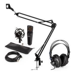auna MIC-920B USB kit micro V3 casque de studio micro condensateur perchette