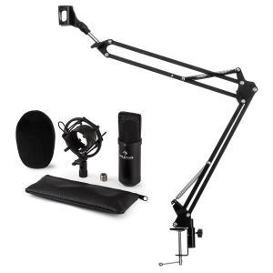 auna CM001B Kit micro V3 Microphone à condensateur perchette noir