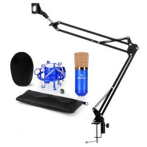 auna CM001S Kit micro V3 micro à condensateur perchette bleu