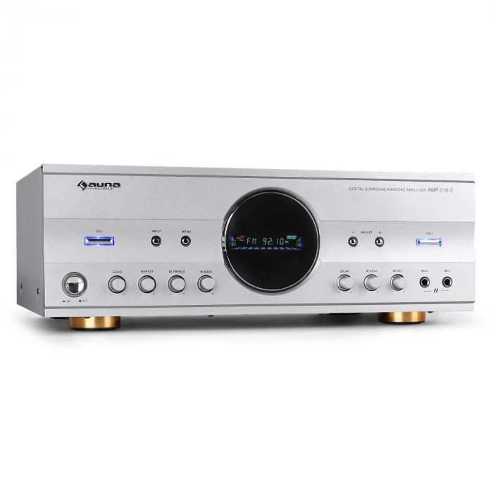 Ampli HiFi 5.1 Home cinema karaoké avec tuner radio 600W