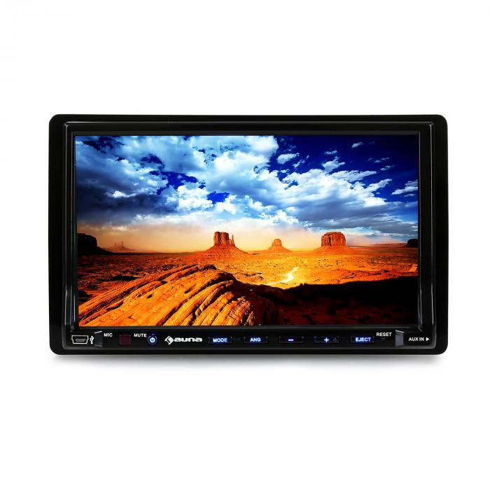 DVA72BT Autoradio multimédia Ecran 18cm lecteur DVD