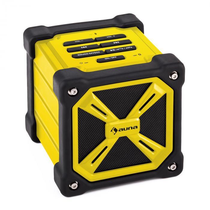 TRK-861 Enceinte Bluetooth mobile batterie -jaune