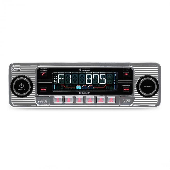 RMD-Sender-Two autoradio Bluetooth USB CD MP3 -argent