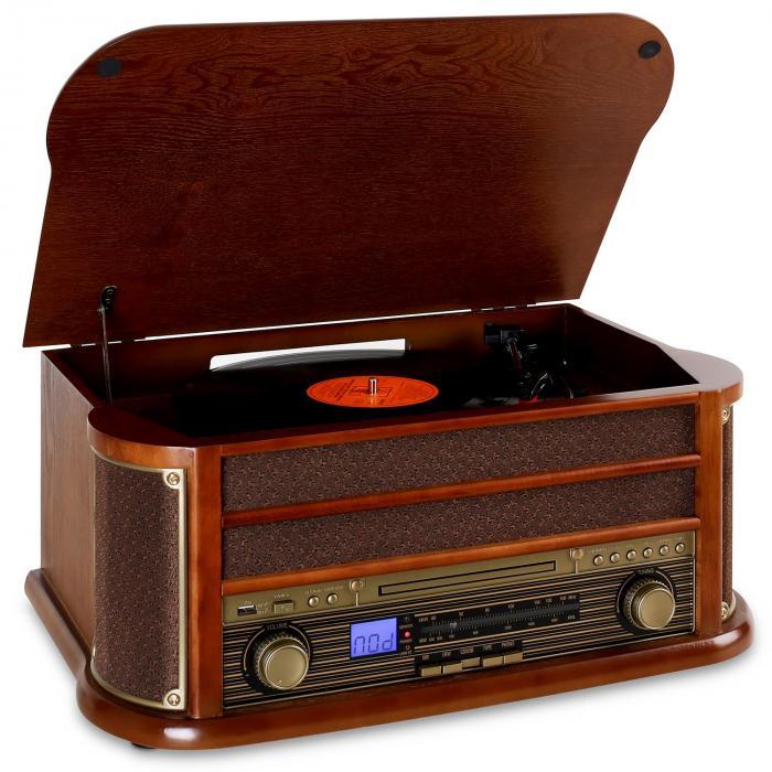 RM1-Belle Epoque 1908 Retro Bluetooth CD MP3 USB
