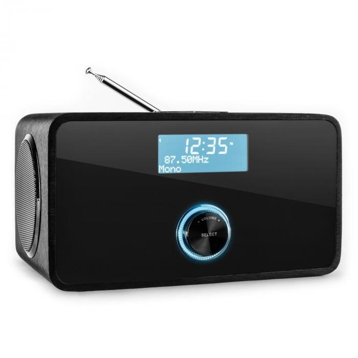 DABStep DAB/DAB+ Radio numérique Bluetooth FM RDS Noir
