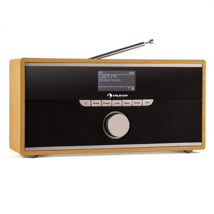 Weimar Radio numérique internet & Bluetooth tuner DAB/DAB+ AUX -bois