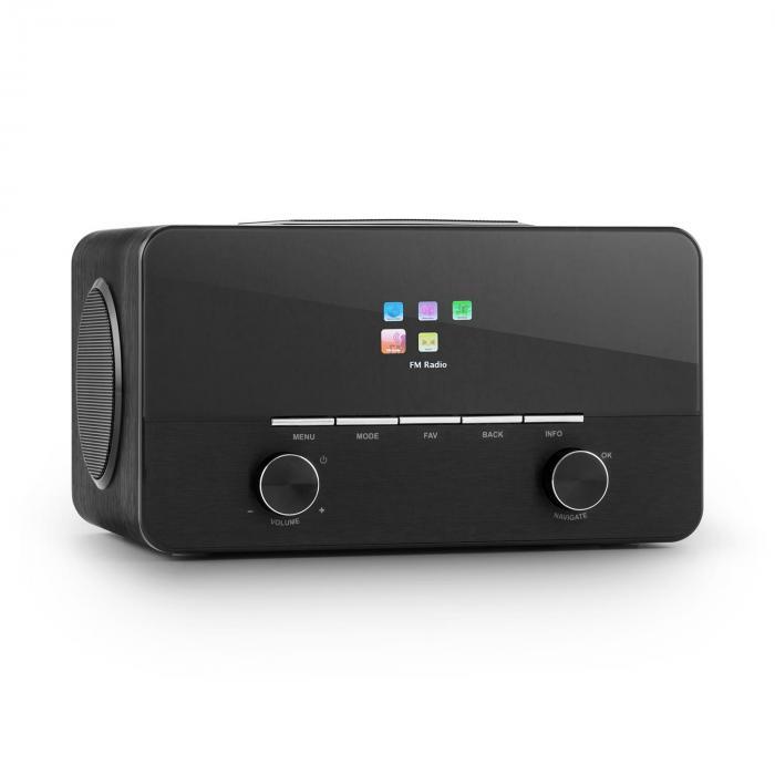 Connect 150 BK Radio internet 2.1 lecteur réseau multimédia USB tuner DAB+