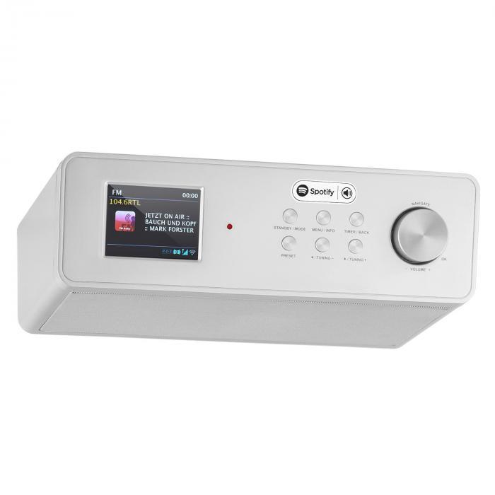 KR-200 Radio cuisine internet Spotify Connect WiFi DAB+ FM RDS AUX - argent