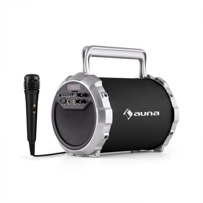 DR. Bang ! Enceinte Bluetooth 2.1 USB SD AUX Batterie Micro inclus -noir
