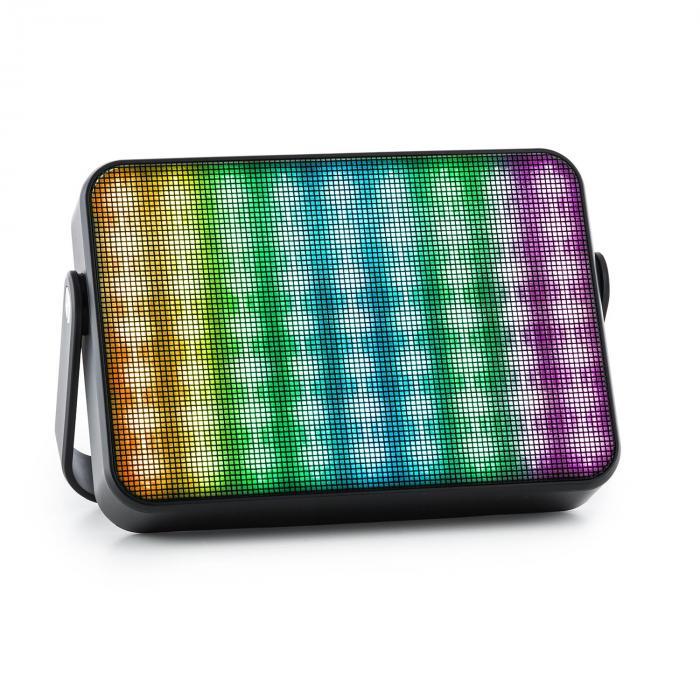 Dazzl 5.0 Enceinte Bluetooth portable LED AUX batterie kit mains libres