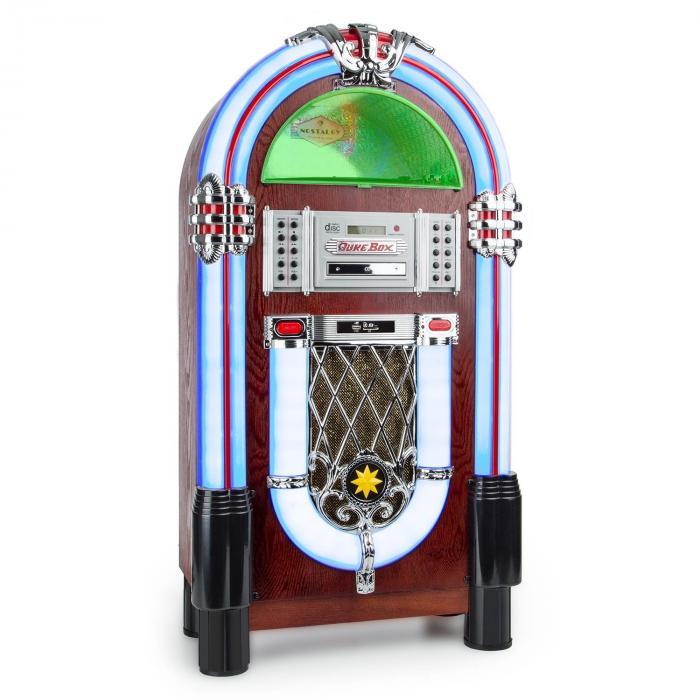 Graceland TT Jukebox Bluetooth Phono lecteur CD USB SD MP3 AUX FM