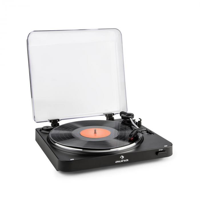 TT-30 BT Platine vinyle Tourne-disque Bluetooth Line-Out adaptateur RCA USB