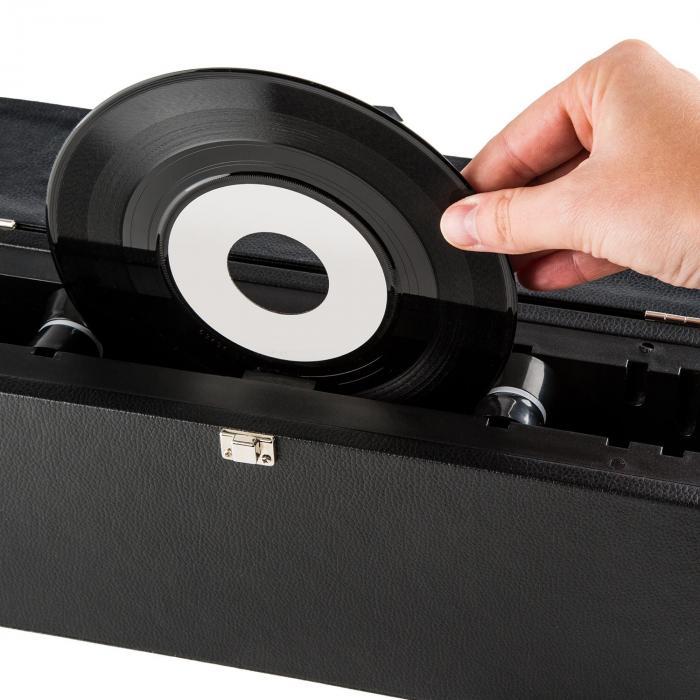 vinyl collector set rangement nettoyage machine laver valise vinyles. Black Bedroom Furniture Sets. Home Design Ideas